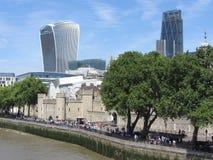 Une vue de la ville de Londres Images libres de droits