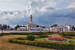 Une vue de la ville de Kostroma Russie photographie stock libre de droits