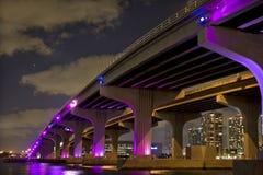 Une vue de Miami du centre Photo libre de droits