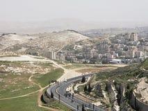 Une vue de Mt Scopus photos libres de droits