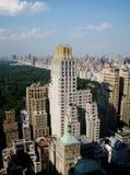 Une vue de New York City Image libre de droits