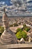 Une vue de Paris Image libre de droits