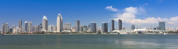 Une vue de San Diego Bay et du centre image libre de droits