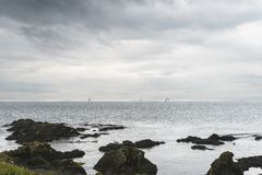 Une vue de Shell Bay photo stock