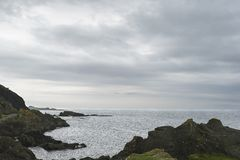 Une vue de Shell Bay image stock