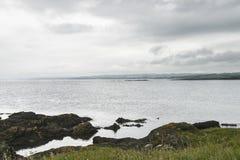 Une vue de Shell Bay photographie stock