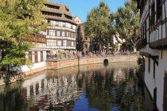 Une vue de Strasbourg Image libre de droits