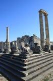 Une vue de temple d'Apollo, Turquie. photos libres de droits