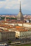 Une vue de Turin Photo stock