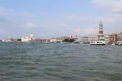 Une vue de Venise Photo libre de droits