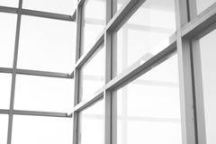 Une vue de verre clair photographie stock