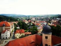 Une vue de ville Image libre de droits