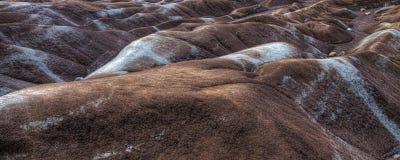 Une vue des bad-lands, Canada Images libres de droits