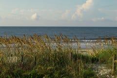 Une vue des dunes chez Myrtle Beach photo libre de droits