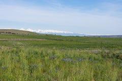 Une vue des montagnes folles Photos libres de droits