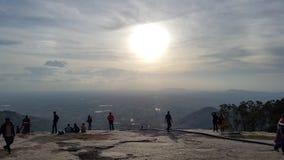 Une vue des nuages Photographie stock