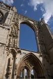 Une vue des restes de l'abbaye de Crowland, le Lincolnshire, Ki uni Images stock