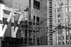Une vue du chantier de construction Images libres de droits