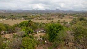 Une vue du Cuba rural photos libres de droits