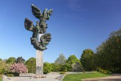 Une vue du jardin public de Szczecin en Pologne image stock