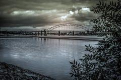 Une vue du Mersey Image libre de droits
