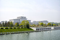 Une vue du palais de Kumsusan du Sun Pyong Yang, DPRK - Corée du Nord images stock