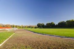 Une vue du stade Image stock