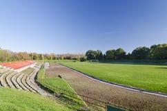 Une vue du stade Photographie stock libre de droits