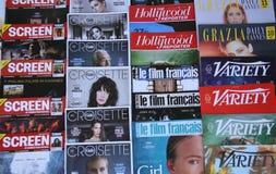 Une vue générale de presse photographie stock libre de droits