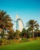 Une vue générale premier étoiles du monde bureau d'hôtel de luxe du de sept Photos stock