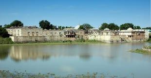 Une vue grande de Sarkhej Roja, Ahmedabad, Inde Images libres de droits