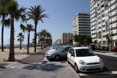 Une vue moderne de Cadix, une des villes les plus antiques d'Europe occidentale Photographie stock