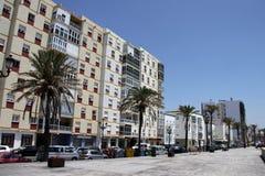 Une vue moderne de Cadix, une des villes les plus antiques d'Europe occidentale Photo stock