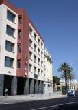 Une vue moderne de Cadix, une des villes les plus antiques d'Europe occidentale Images stock