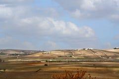 Une vue panoramique de la plaine Photographie stock