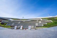 Une vue panoramique du centre national récemment réalisé pour les arts du spectacle Images libres de droits