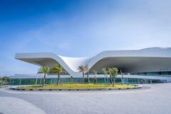 Une vue panoramique du centre national récemment réalisé pour les arts du spectacle Photographie stock libre de droits