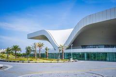 Une vue panoramique du centre national récemment réalisé pour les arts du spectacle Image libre de droits