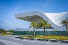 Une vue panoramique du centre national récemment réalisé pour les arts du spectacle Photo libre de droits