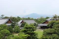 Une vue scénique de Kyoto, Japon, un jour nuageux photo libre de droits