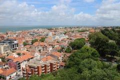 Une vue superbe d'Arcachon, avec de belles couleurs photographie stock libre de droits