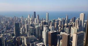 Une vue sur Chicago du centre de tour de Willis image stock
