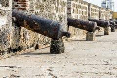 Une vue typique à Carthagène Colombie photographie stock