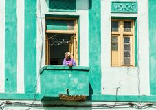 Une vue typique à La Havane au Cuba photographie stock libre de droits