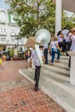 Une vue typique à Panamá City au Panama photos libres de droits