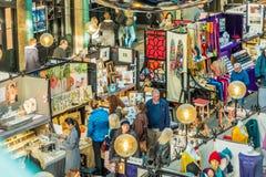 Une vue typique dans Covent Garden photos libres de droits