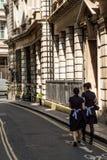 Une vue typique de la ville de Londres photographie stock