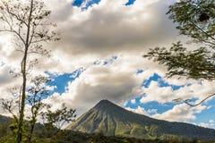 Une vue typique en Costa Rica photo stock