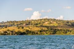 Une vue typique en La Fortuna en Costa Rica images stock