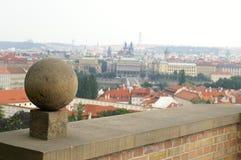 Une vue vers Prague Photos libres de droits